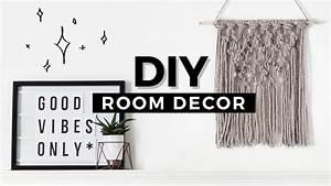 Diy room decor tumblr inspired affordable minimal
