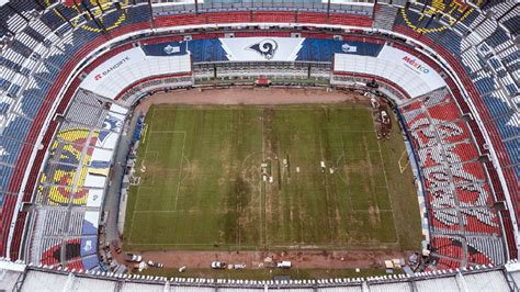 chiefs rams game moved  mexico city  la due  field