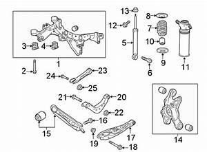 Gmc Terrain Arm  Suspension  Trailing  Control   Rear   W