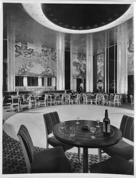 Vanished New York City Art Deco: The Persian Room of the