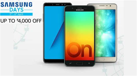 samsung days carnival offers upto rs 4 000 galaxy