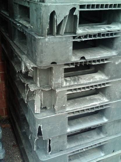 broken plastic pallets  nelson