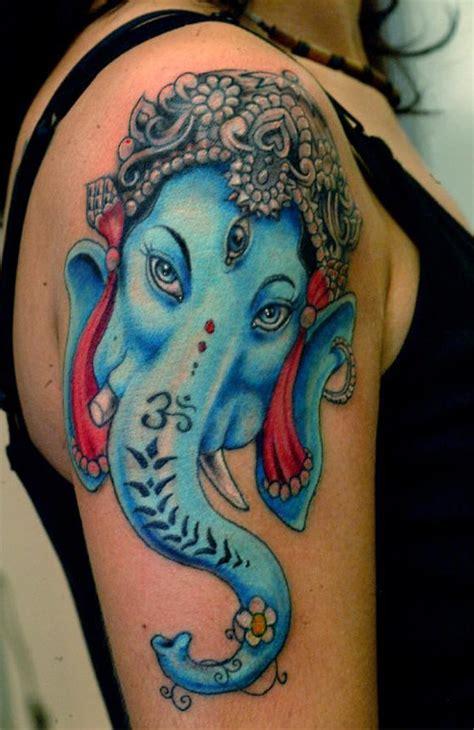 ganesha dios hindu tatuajes  mujeres