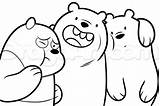 Bears Bare Bear Drawing Cartoon Three Coloring Network Panda Draw Drawings Grizzly Step Printable Getdrawings Ice Adult Polar Spirit Paintingvalley sketch template