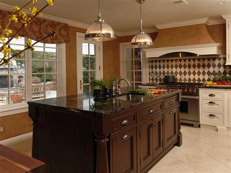 traditional kitchen islands galley kitchen lighting ideas pictures ideas from hgtv