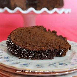 Triple Chocolate Hershey Pound Cake - Chocolate Chocolate ...