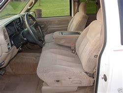silverado bench seat 1998 chevrolet silverado regular cab front backs 60