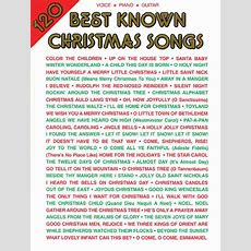 120 Best Known Christmas Songs Sheet Music  Sheet Music Plus