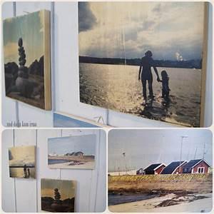 Foto Auf Holz Bügeln : blogger adventskalender ein last minute foto geschenk mamsell su ~ Markanthonyermac.com Haus und Dekorationen