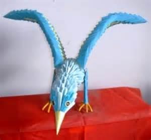 3D Origami Eagle