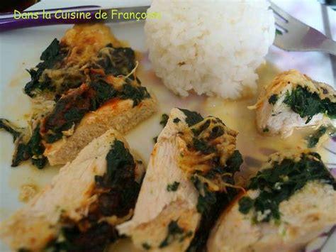 cuisiner des filets de poulet recettes de filet de poulet et poulet farci