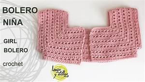Tutorial Bolero Fácil Niña Crochet o Ganchillo YouTube
