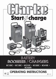 Battery Boosters    Chargers Operating Instructions