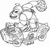Kong Donkey Mario Kart Arcade Draw Drawing Machine Coloring Pages Koopa Template Nintendo Throwing Shell Step Easy sketch template