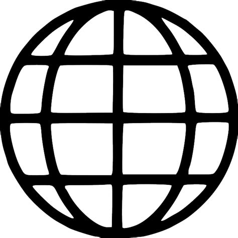 globe earth symbols black   vector graphic  pixabay