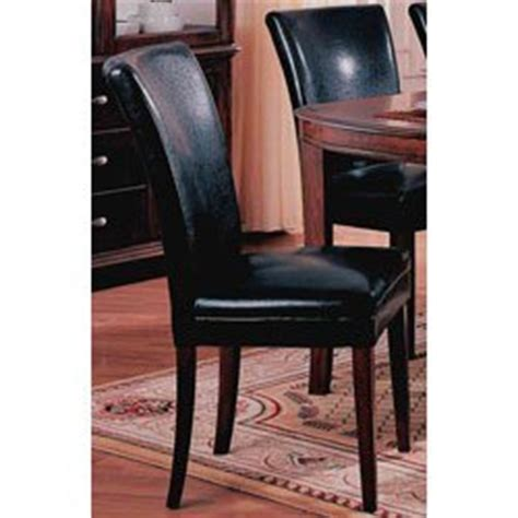 parson dining chairs cherry legs set of 2 dolce style parson dining chairs in