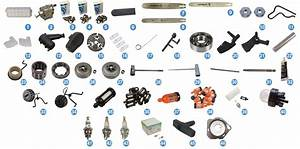 Stihl Ms 250 Chainsaw Parts Reference Guides