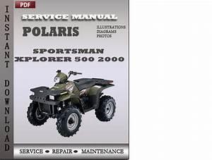 Polaris Sportsman Xplorer 500 2000 Service Repair Manual