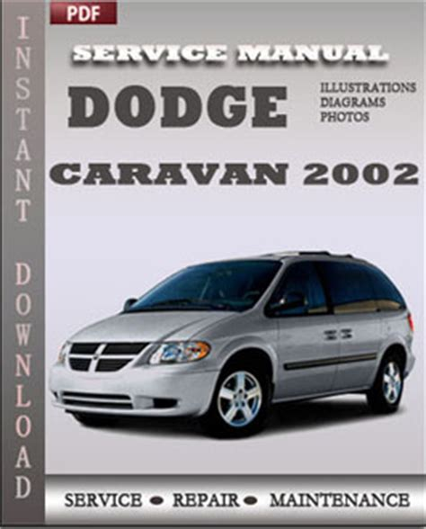 old car owners manuals 2001 dodge caravan electronic valve timing dodge caravan 2002 service manual download repair service manual pdf