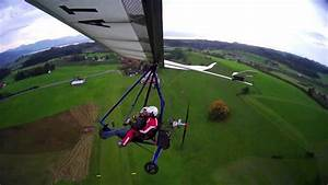 Atos VR 190 First electric two-seater hang glider flight ...