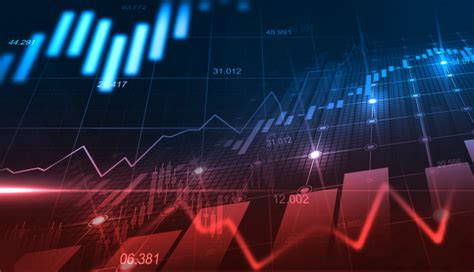 Premium Photo | Stock market or forex trading graph in ...