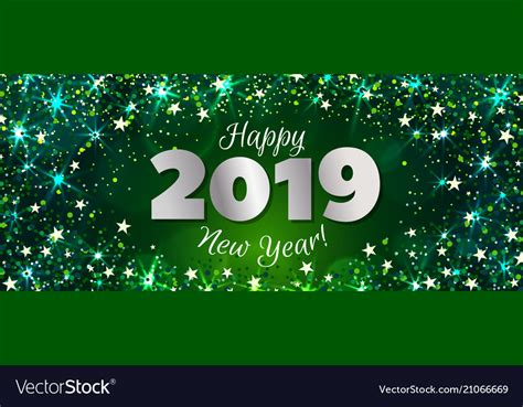 happy  year  banner royalty  vector image