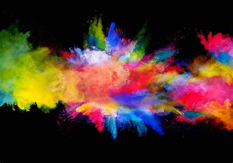 le bureau viticole explosion de couleur poster mural papier peint acheter