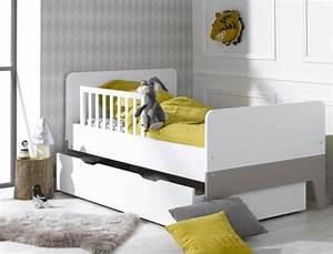 Lit evolutif enfant city blanc lin villes for Chambre à coucher adulte avec housse de couette lit evolutif 90x140