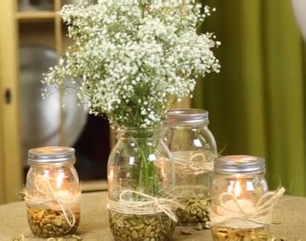Woods & Rustic Wedding Table Decorations
