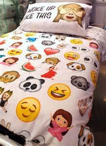 Twin Bed Sets At Walmart by Emoji Visage Proteger Parure De Lit Taille Simple Double