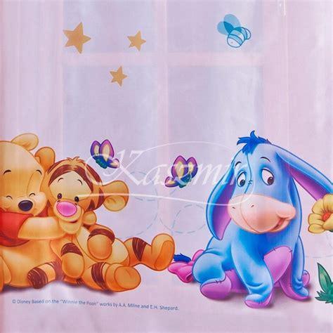 stickers chambre bébé pas cher voilages d 39 enfants winnie baby voilage en largeur