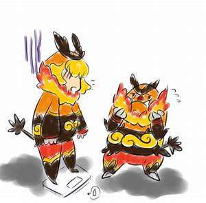Gijinka Action: Emboar by sodiYUM on DeviantArt