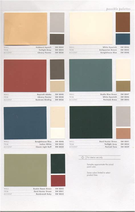 17 best images about 1920s house colors on