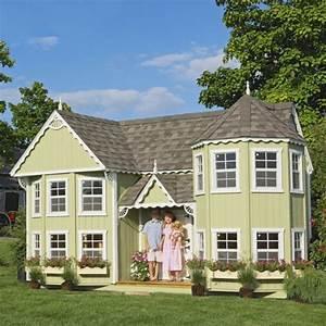 Maison Pour Enfant : la cabane de jardin pour enfant est une id e superbe pour votre jardin ~ Teatrodelosmanantiales.com Idées de Décoration