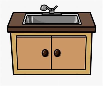 Clipart Sink Kitchen Clip Webstockreview