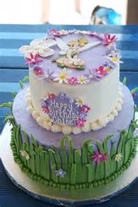 Flowers Girl Birthday Cakes
