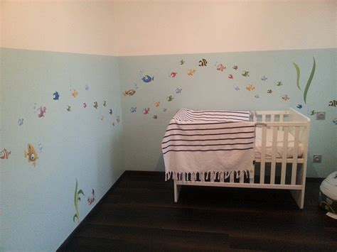 deco a faire soi meme chambre bebe deco chambre bebe poisson visuel 4