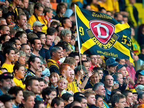 Die sg dynamo dresden (offiziell sportgemeinschaft dynamo dresden e. Dynamo Dresden kämpft gegen den schlechten Ruf seiner Fans ...