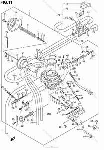 Suzuki Motorcycle 2002 Oem Parts Diagram For Carburetor