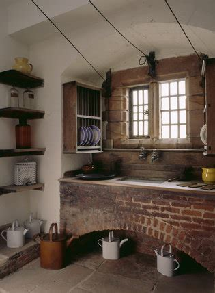 A room view of the scullery including the large sink
