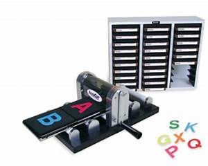 accucut mark iii roller die cutting machine combo pack With die cut letter machine