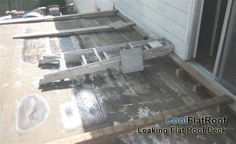 why do roofs leak flat roof decks and patios cool flat