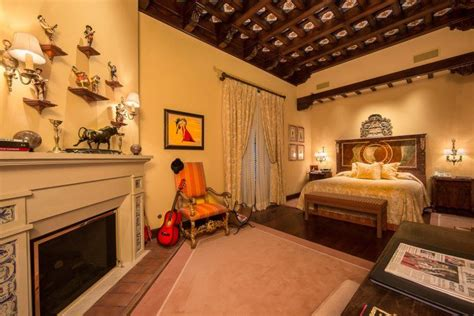 bedrooms infused  spanish interior design style