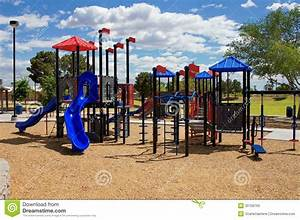 Children Playground Equipment Stock Photo - Image: 30756760