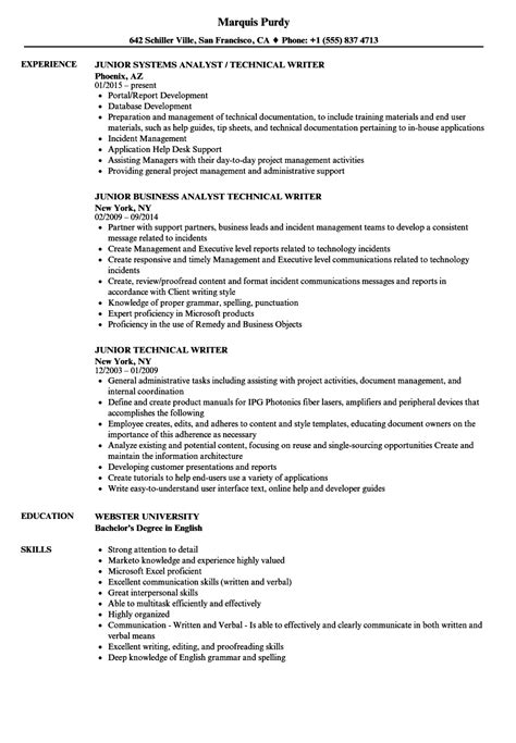 Technical Writer Resume by Technical Writer Resume Ca Karin Gallagher