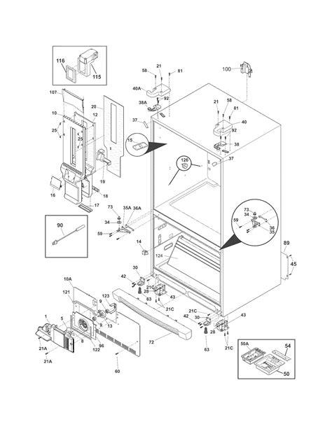 electrolux refrigerator parts ei23bc30kw3 sears partsdirect