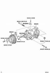 Toyota Sienna Hvac System Wiring Harness Bracket