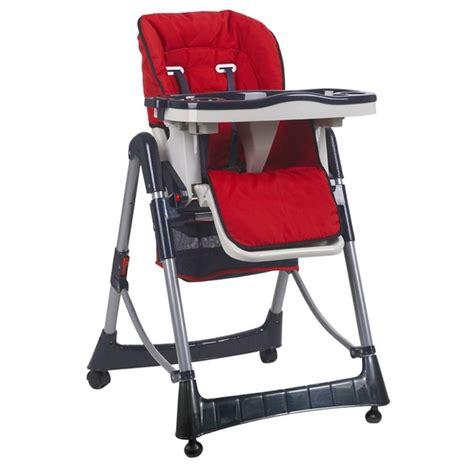 chaise haute la redoute chaise haute bébé pliable réglable hauteur dossier et