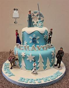 Delectable Delites: Disney Frozen theme cake