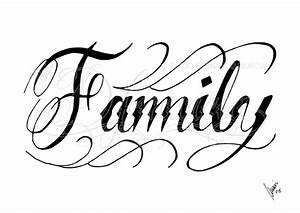 Beautiful Family Font Greeting Wallpaper - Images, Photos ...
